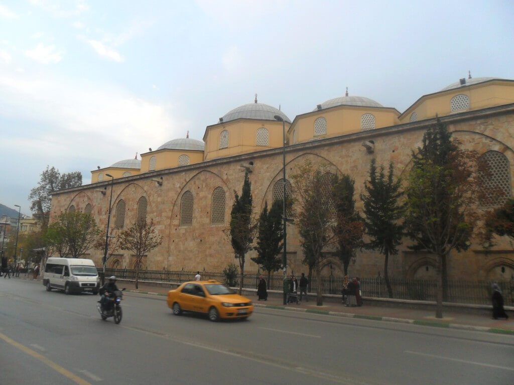 Bursa Ulu Cami Gezilecek Yerler