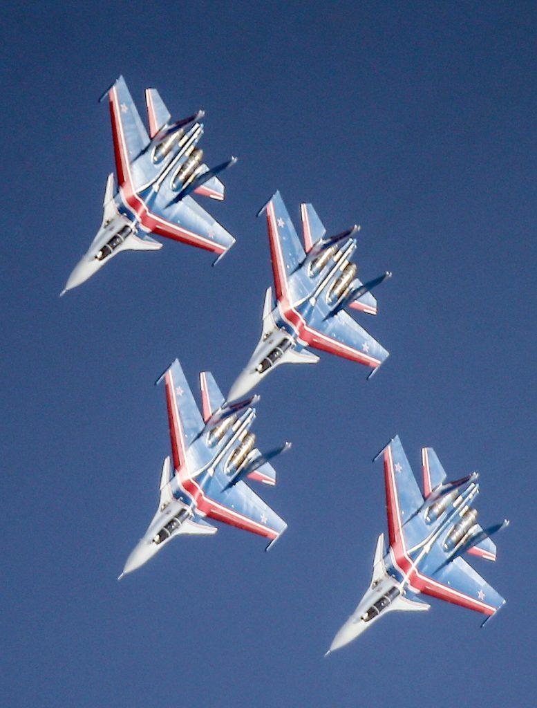 Sukhoi-30 Rus Uçakları