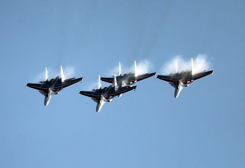 Rus Su-30 Gösteri Takımı 4'lü