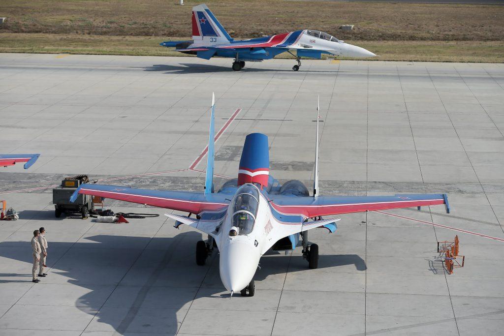 Rus Su-30 Uçakları