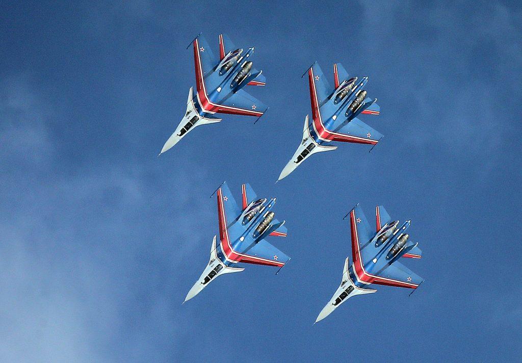 Su-30 4'lü Gösteri