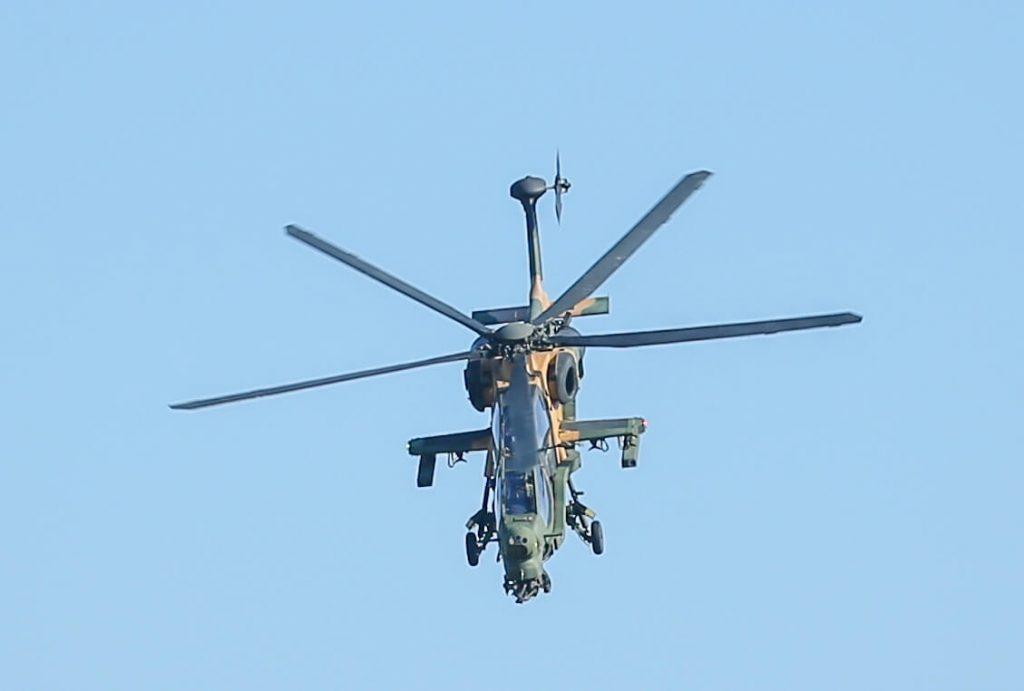 Teknofest Atak Helikopteri Şov