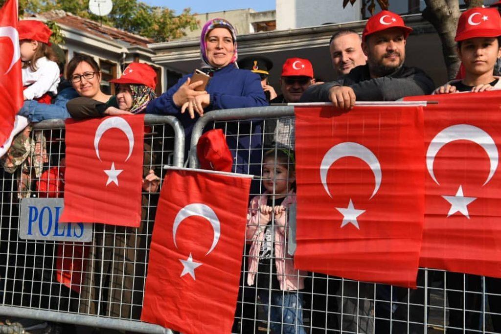 Bursa'da 29 Ekim Kutlaması