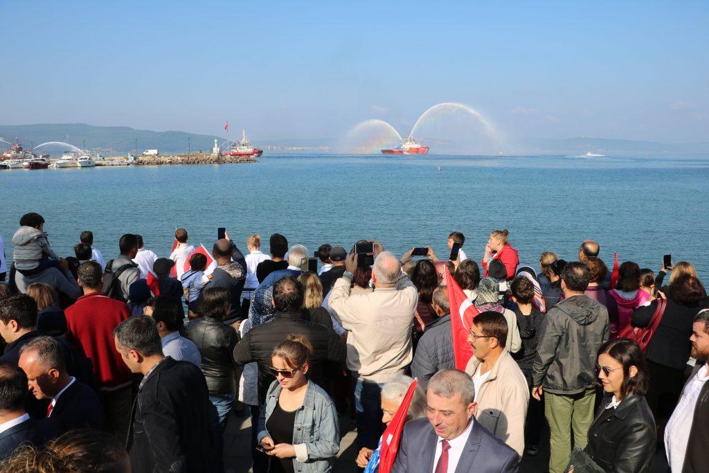 Çanakkaleliler Cumhuriyet Bayramı Kutlamasında