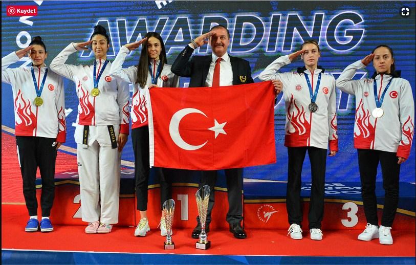 Kadın Milli Tekvando Takımı Avrupa Şampiyonu