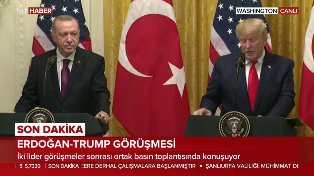 Erdoğan Trump Basın Toplantısı