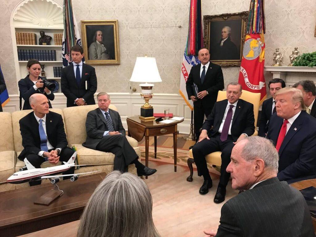 Cumhurbaşkanı Erdoğan, ABD Başkanı Trump ve Cumhuriyetçi Senatörler