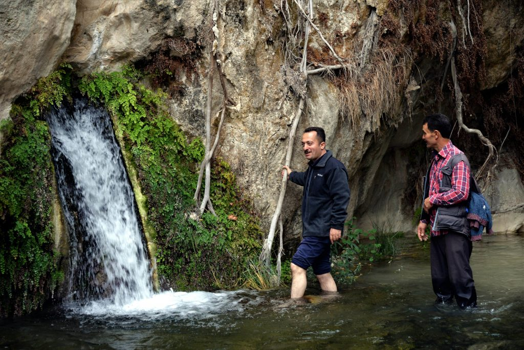 Harmankaya Kanyonu Sıcak Su Kaynağı
