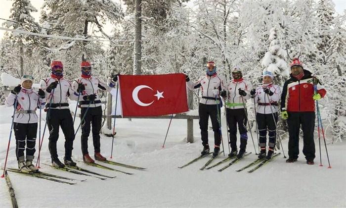 Milli Kayak Takımı Finlandiya'da Kamp Yapıyor