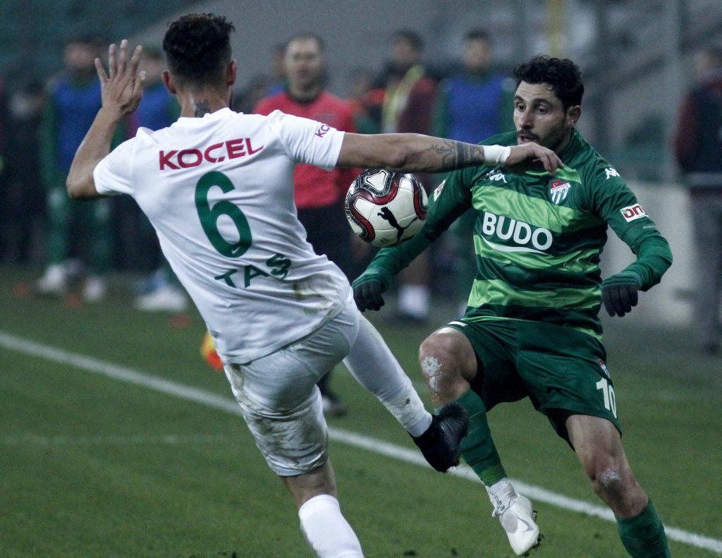 Bursaspor - Giresunspor Futbol Maçı