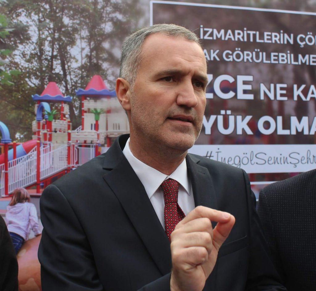 İnegöl Belediye Başkanı Alper Taban