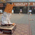 Sigara İzmaritinden Heykel