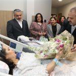 Bursa'da yeni yılın ilk bebeği