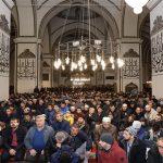 Ulu Cami'de Yılın İlk Namazı