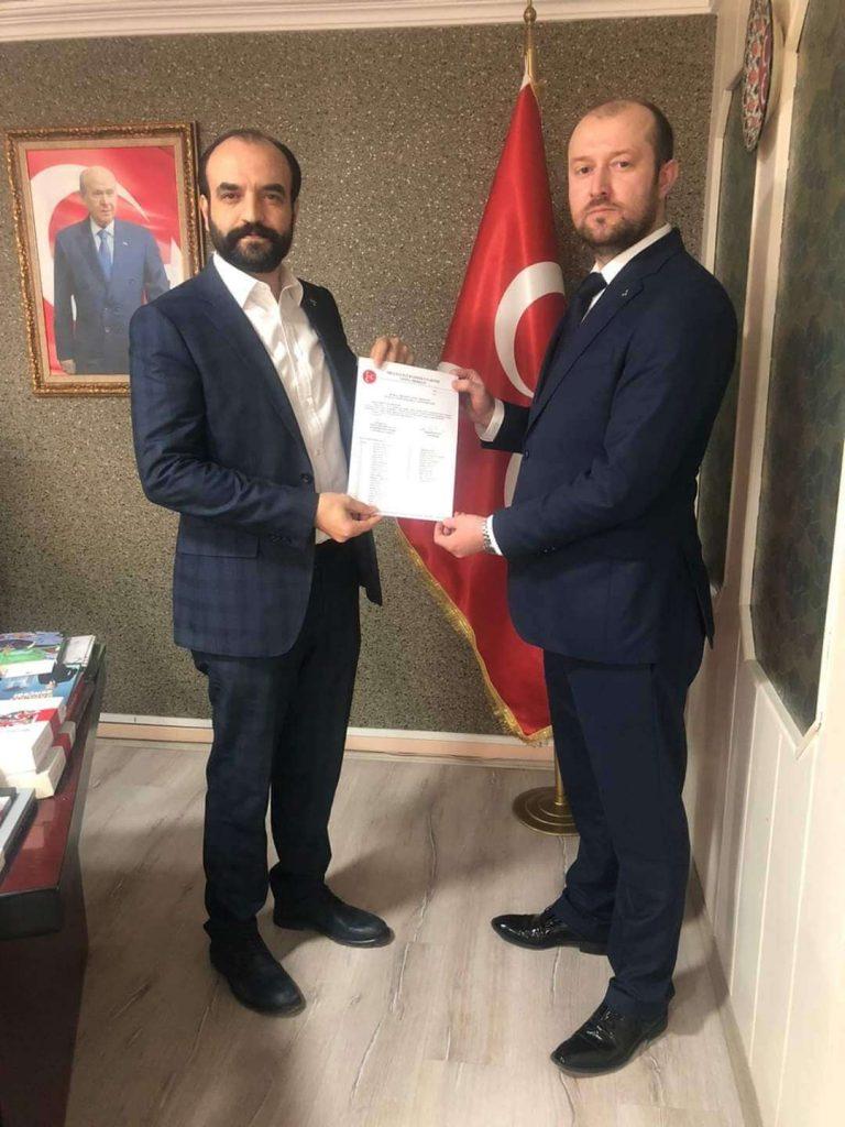MHP Mudanya İlçe Başkanı Erkut Seymenler