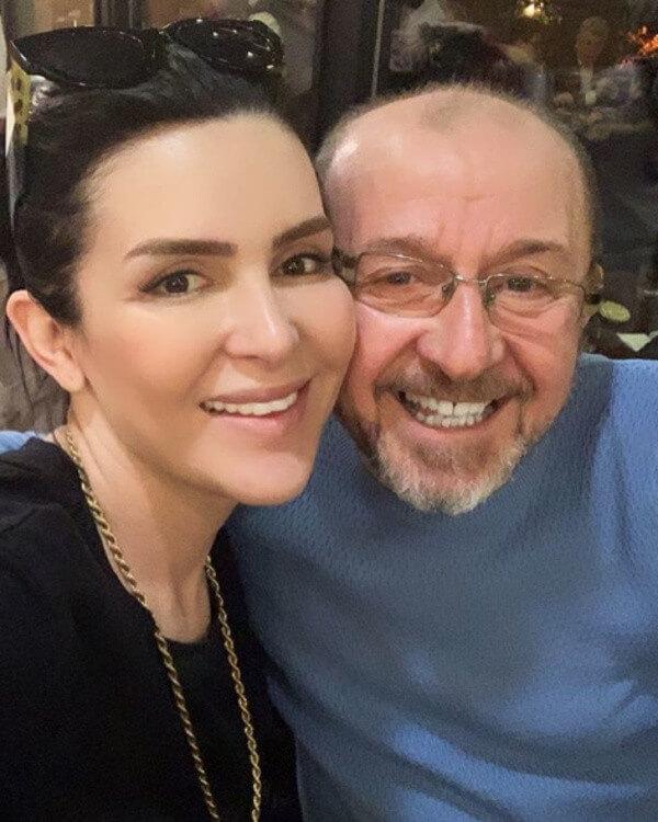 Selin Ciğerci ve Babası Fotoğraf