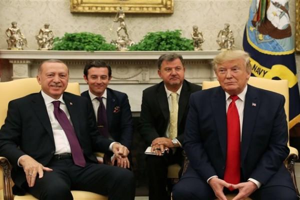 13 Kasım Erdoğan Trump Görüşmesi